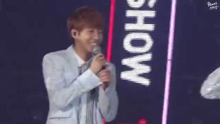 140622 The Show Music Concert - Sunggyu comment