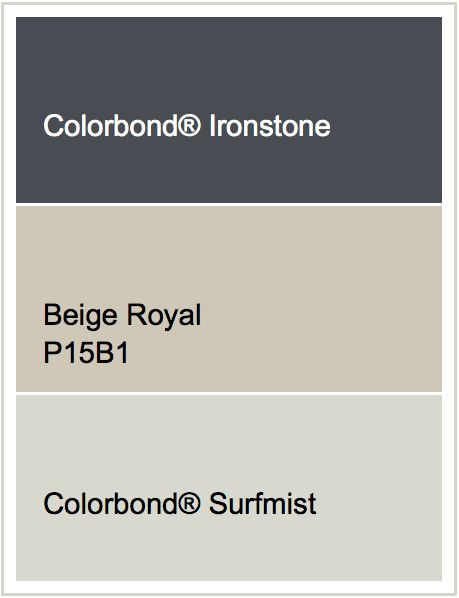 Roof - Ironstone | Render - Beige Royal | Windows - Surfmist