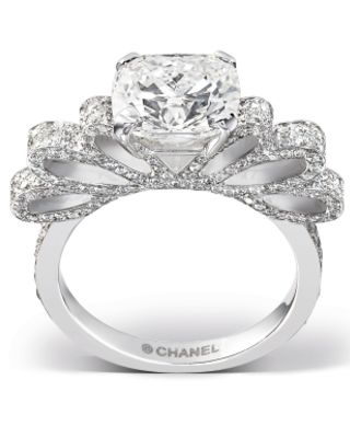 Chanel Engagement Ring- a stunner