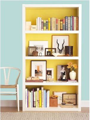 Why can't my bookshelf ever look this cute?!