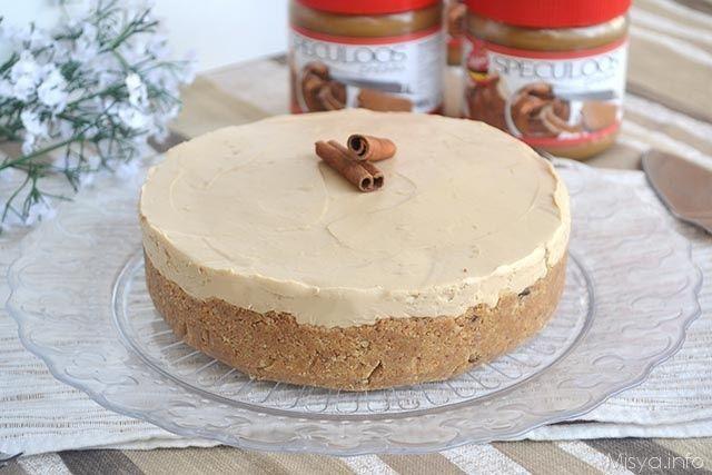 Cheesecake allo speculoos, scopri la ricetta: http://www.misya.info/ricetta/cheesecake-allo-speculoos.htm
