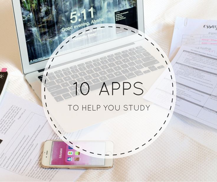 10 phone apps, perfect for students, to help you study!