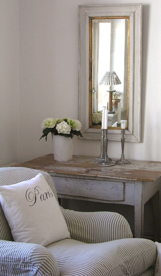 table for entrance area - love