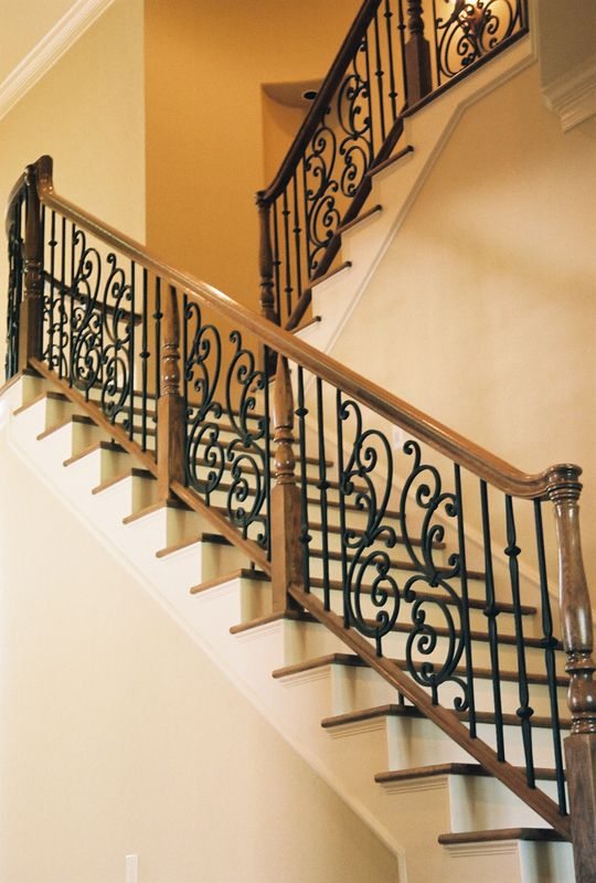 Tuscany C1 Flat Amp Angled Wrought Iron Stairs Cheap