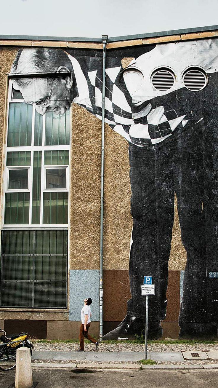 Street artist JR: Making a big impression © JR - Berlin, 2013