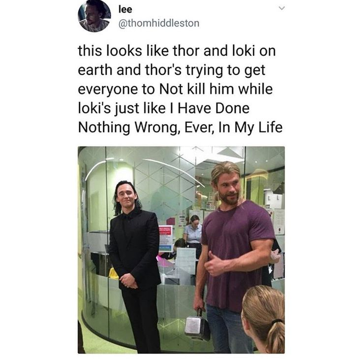 thor re-introducing loki to the squad at the start of iw