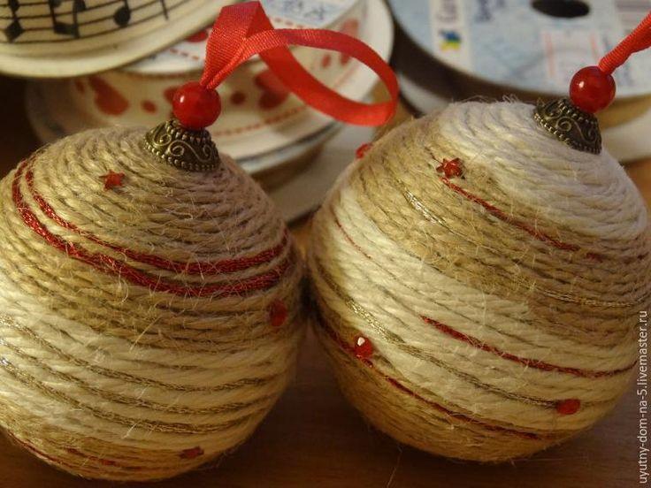 Делаем крепление для елочных шариков - Ярмарка Мастеров - ручная работа, handmade