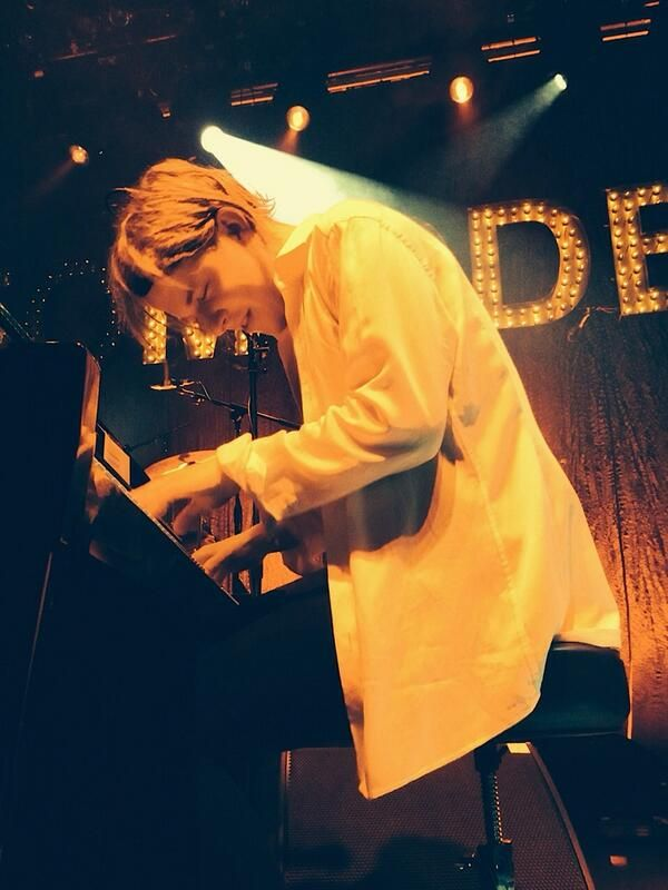 Tom Odell somewhere in Europe
