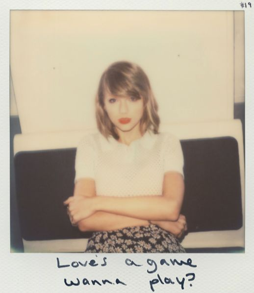 Taylor Swift Polaroid 19 - Blank Space #1989