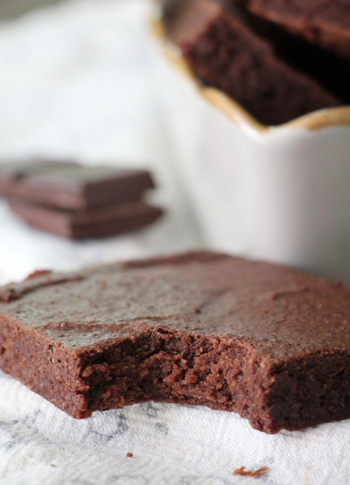 Proteinrike brownies: 50 g smør 80 g kesam 3-4 ss sukrin gold 30 g sukkerfri sjokolade 1 egg 60 g havremel 20 g sjokoladeprotein (beste smaken!) 20 g kakaopulver 1 ts bakepulver en klype salt