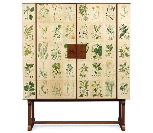 "Josef Frank - ""Flora"" Cabinet"