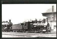 Foto 1961 Sopron Gysév Dampflok Lokomotive Nr 306 & 324.823 Eisenbahn-Ungarn MAV