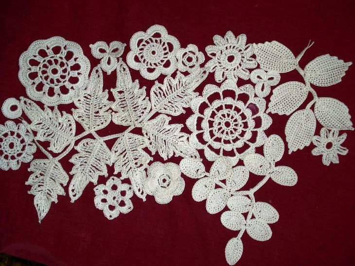 Vestidos de novia a crochet: Crochet Flowers, Irish Crochet, Crochet Dresses, Crochet Irish, Crochet Floral, Clever Crafts, Irish Lace, Crochet Irlandai, Crochet Patterns