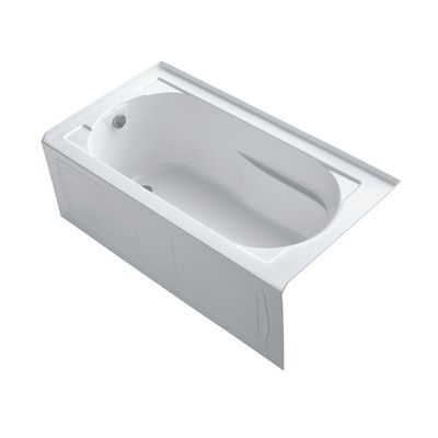 "Devonshire 60"" x 32"" Bathtub with Integral Apron and Tile Flange"