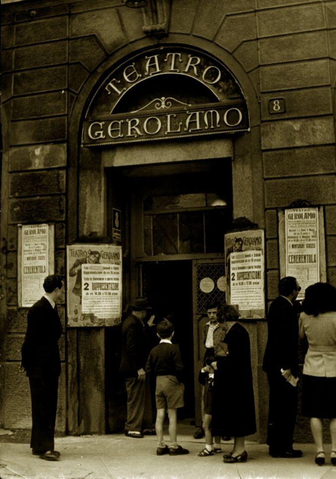 Teatro Gerolamo   piazza Beccaria, Milano