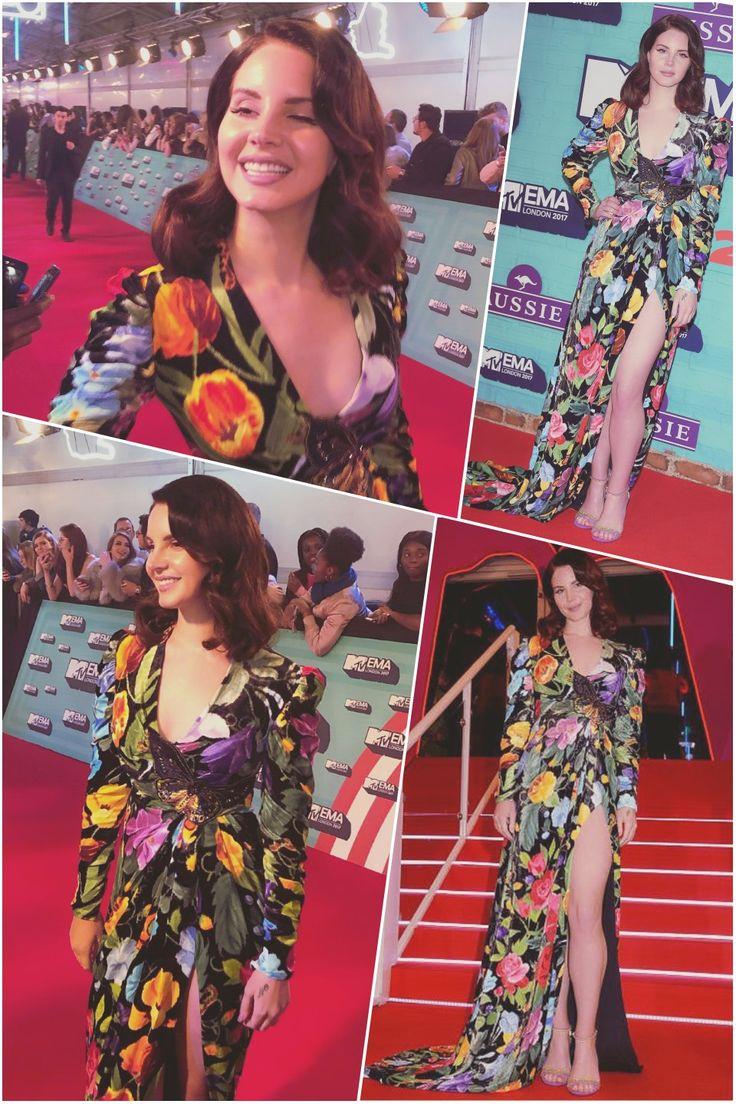 Nov.12, 2017: Lana Del Rey arrives at the MTV Europe Music Awards held at The SSE Arena Wembley in London #LDR