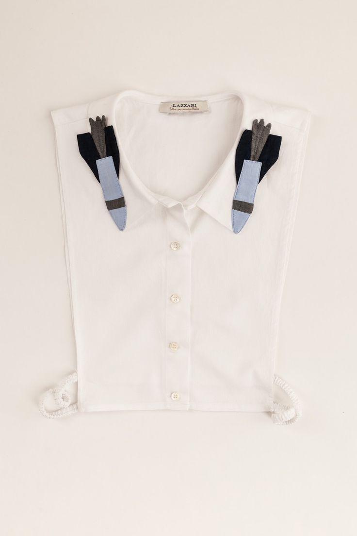 Colletto razzi spaziali Abbigliamento Donna Made in Italy