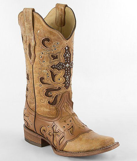 Corral Cross Cowboy Boot - Women's Shoes | Buckle