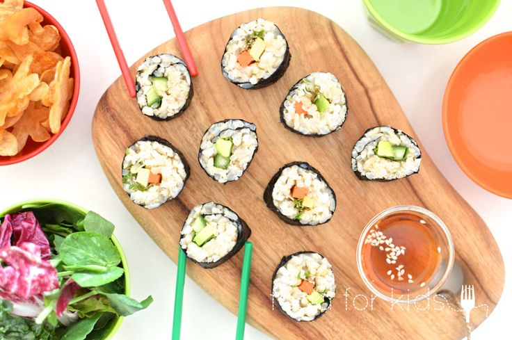Simple Sushi | Food For Kids