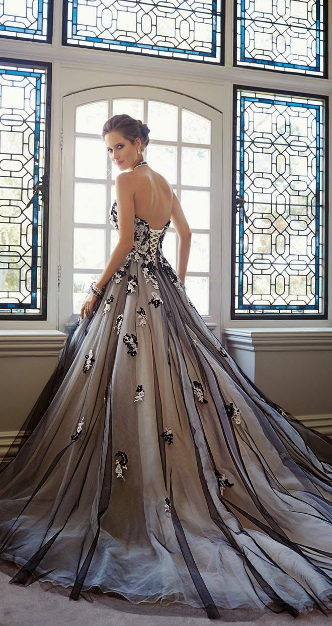 Best 25 Silver Wedding Gowns Ideas On Pinterest