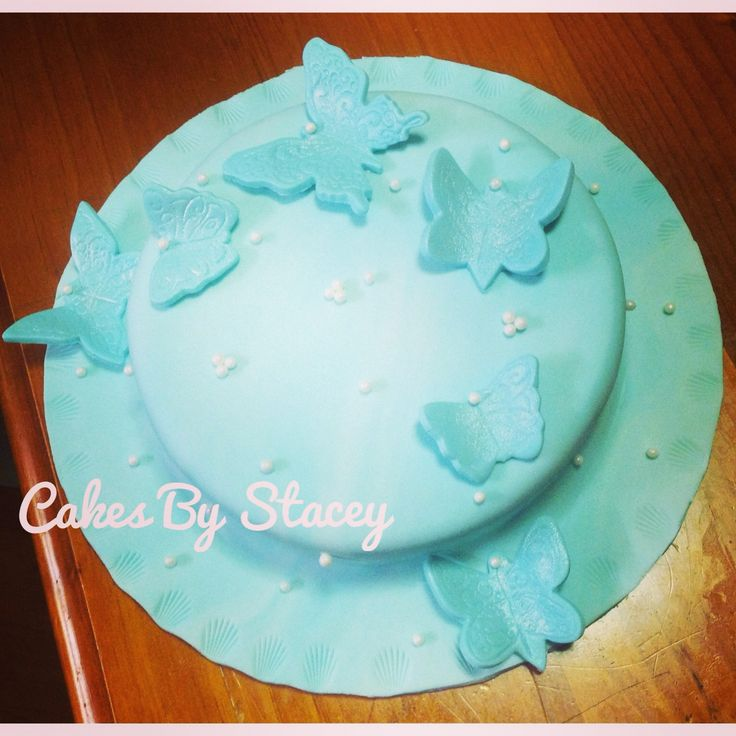 Butterfly Baby Shower Cake Images : Butterfly baby shower cake Cakes I have made Pinterest