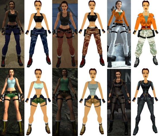 Shadow Of The Tomb Raider All Outfits Armor Costumes: Tomb Raider Outfits - Old And New.