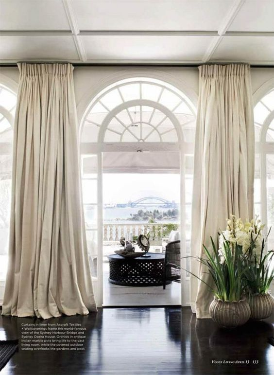 51 Best Creative Ways To Hang Curtains Images On Pinterest