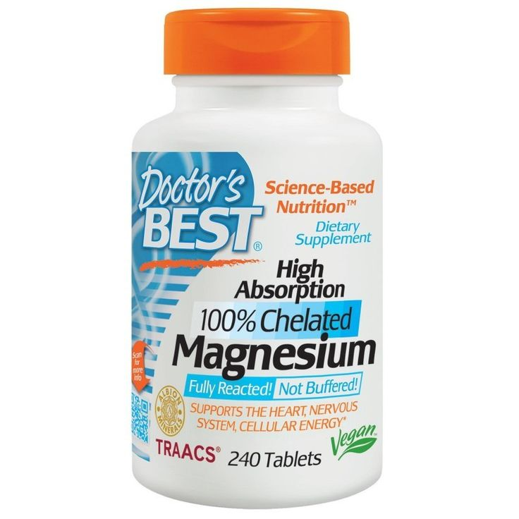 Buy Doctor's Best Magnesium High Absoption 100% Chelated, 240 Tablets at Megavitamins Online supplement store Australia, Discount on volume available.Learn more - where to buy pros & cons High Absoption 100% Chelated Magnesium.