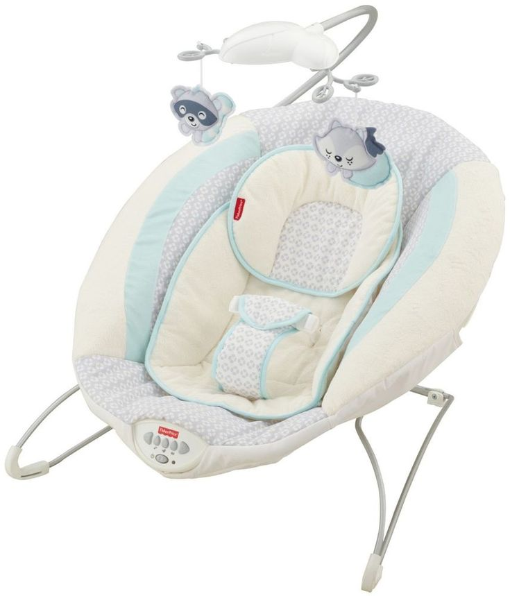 Baby Bouncer Moonlight Meadow Deluxe For Little Snuggling Comfy Deep Seat Soft #FisherPrice