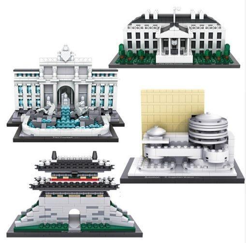 LOZ World Famous Architechture Series Nano Diamond Building Education Toy Blocks #LOZYZ