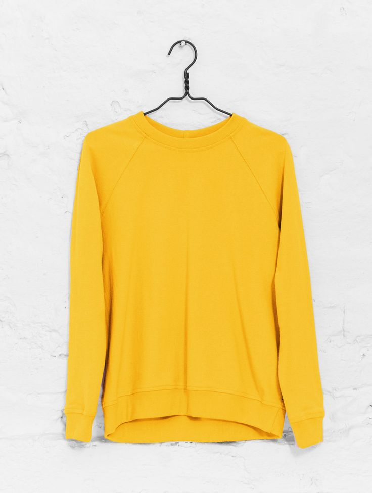Classic sweatshirt old gold   R-Collection
