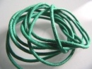 Textilband smaragdgrün 2 mm