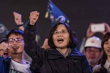 Pro-Independence Leader Tsai Ing-Wen Elected First Female President In Taiwan