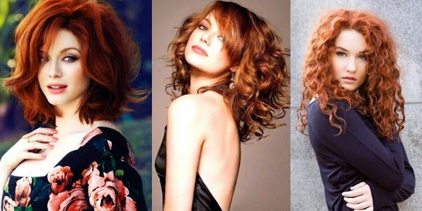 Red hair is impressive anyways! But when it is curly too, then it is a style-bomb!!! Enjoy our gallery!