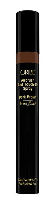 ORIBE AIRBRUSH ROOT TOUCH UP SPRAY – YOUR NEW LIFESAVER!  Not only does this touch up spray do a brilliant job at touching up hair, it is filled with nourishing goodness for your tresses. The natural micro-fine mineral colorants are super effective and mix effortlessly with your natural hair to cover the inevitable greys and regrowth that happen between appointments.