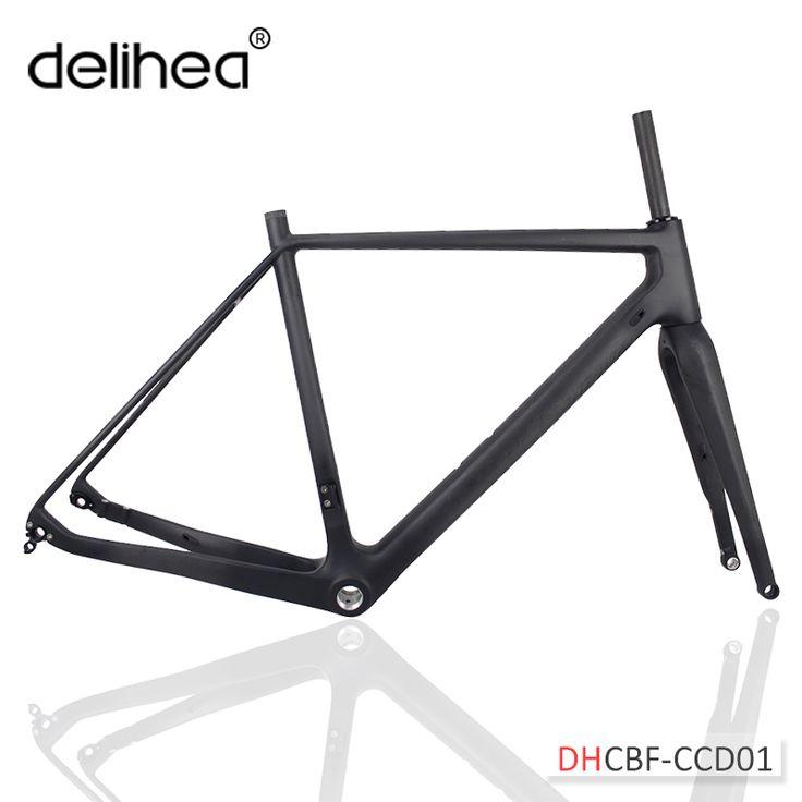 Cheap bike frame, Buy Quality carbon disc directly from China carbon bike disc frame Suppliers: super newest T700 hot carbon disc bike frame+Fork Carbon Gravel Frame BSA/BB30 Thru Axle/QR