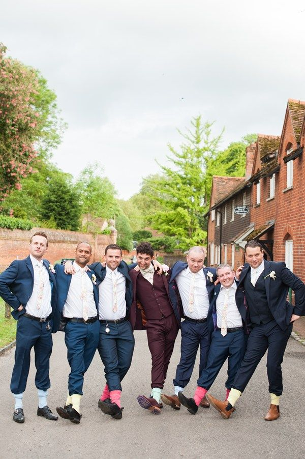 Groom and ushers style