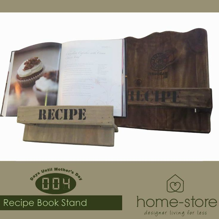 With only four days left until Mother's Day, visit Home-Store for the perfect gift for your mom such as these beautiful recipe book stands. A #musthave for any kitchen. #kitchenessentials #lifestyle
