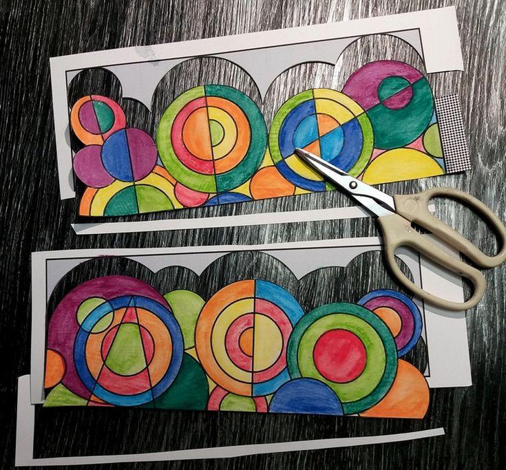 Couronne Delaunay - Le tour de mes idées en 2020 | Coloriage, Couronne, Artiste