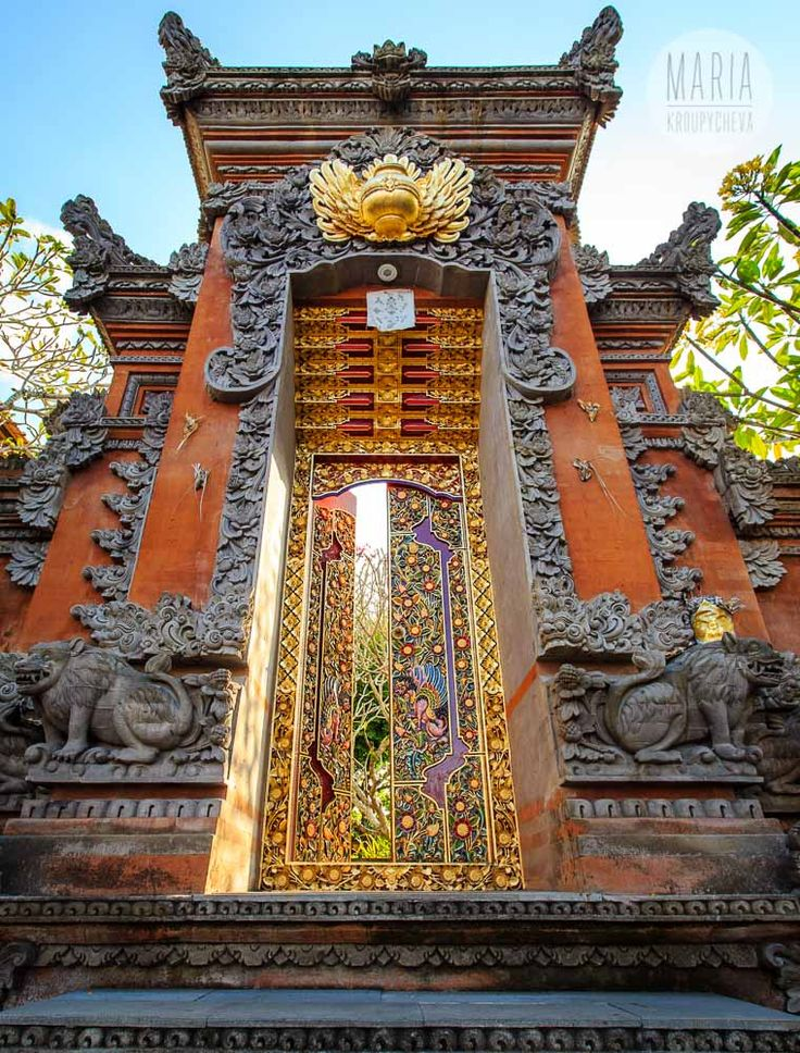 Gapura Is A Gate Entrance That Is Often Synonymous With