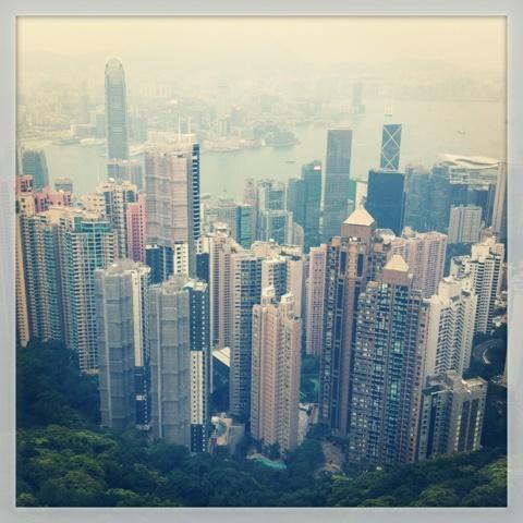 The peak #HK #view