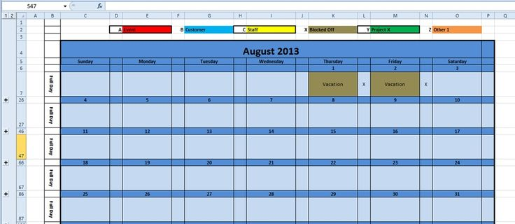 customizable planner template