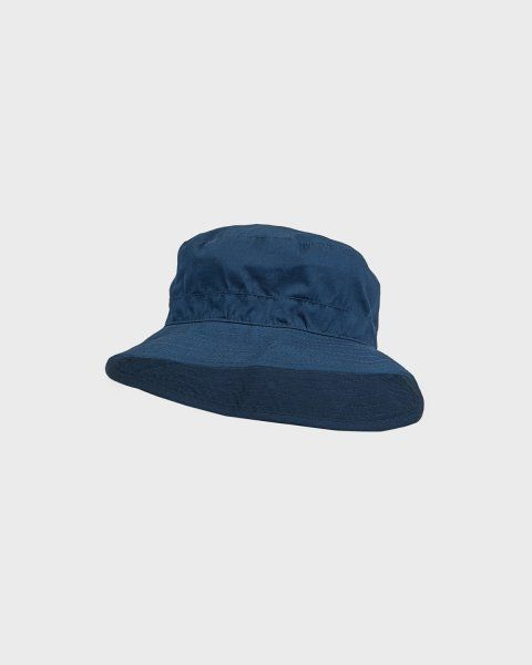 Melton Bucket Hat - Solid c – Luer – Marineblå