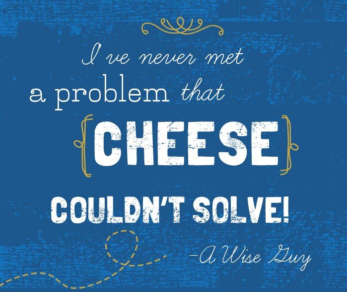 Note: The most difficult problems require a particularly sharp cheese! #quote