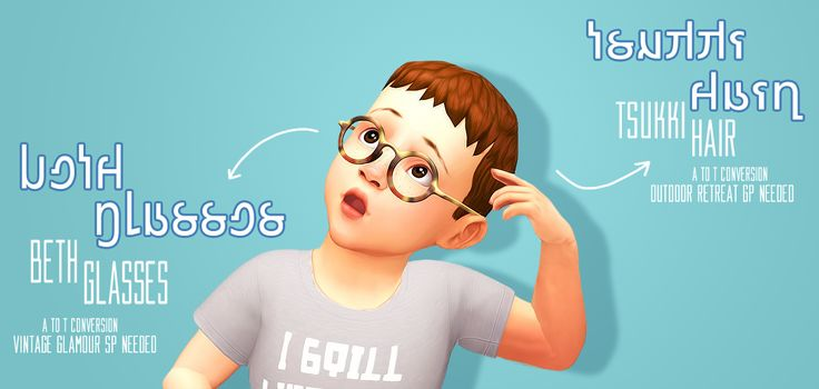 """gachink: """"  ♦ SMOL CC DUMP - CONVERSIONS ♦  i was kinda bored so i converted these two things for toddlers"""