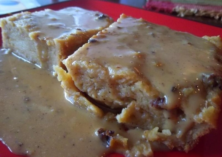 Belizean Bread Pudding with Rum Sauce | Belizean in the kitchen | Pin ...
