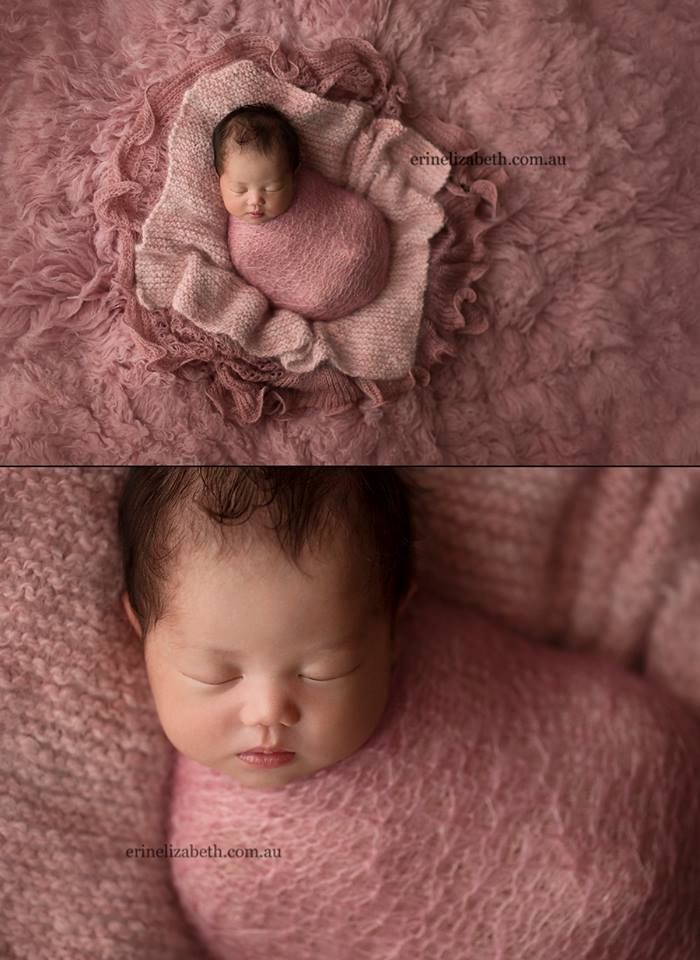 Erin elizabeth baby newborn layering creative au newborns newborn photography people ideas