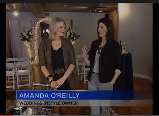 Amanda O'Reilly talks Weddings. Weddings InStyle - Ottawa's Chic one stop wedding venue.