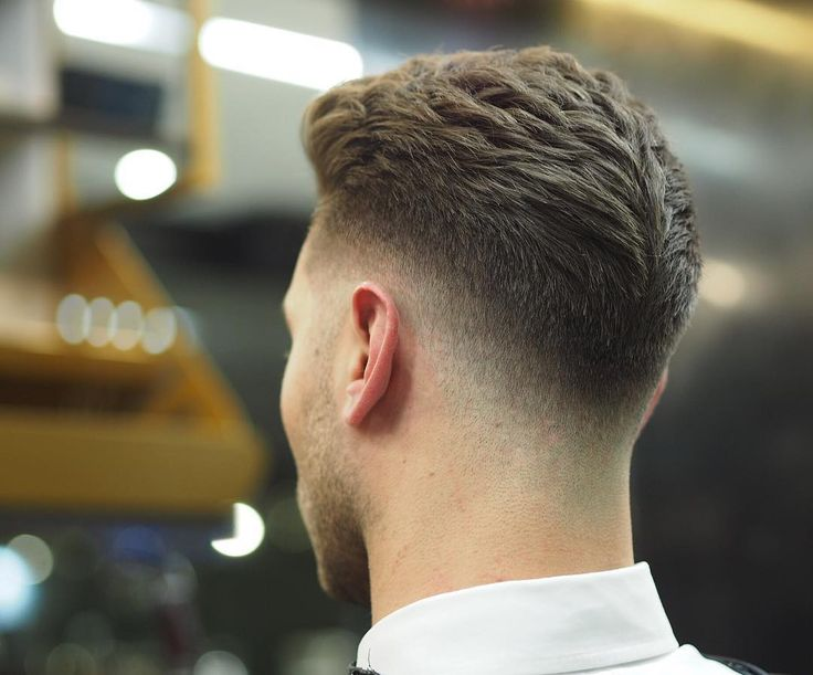Faded tapered Mohawk