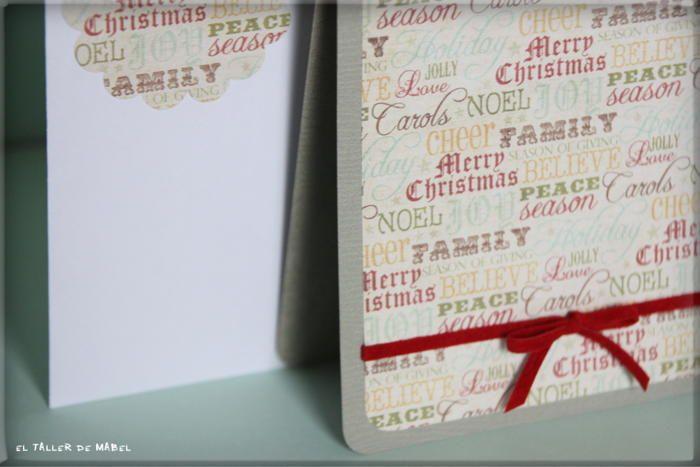 Con mensajes navideños